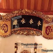 cuốn thư sơn son thếp vàng thờ gia tiên