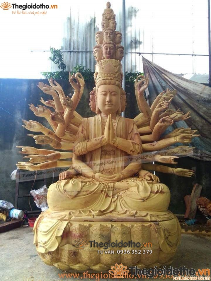tuong-phat-thien-thu-thien-nhan-bang-go-mit